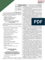 DECRETO DE URGENCIA N° 022-2020