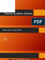 Tibetan Buddhist Debate