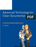 Advanced Technology for Clear Documentation - Simplified Technical English