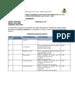 Cronograma de Supletorio FIISCA