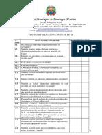 CHECK LIST - Recursos Humanos e Departamento de Pessoal