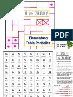 juego de los cuadritos tabla periodica