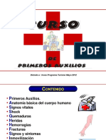 CURSO BÁSICO PRIMEROS AUXILIOS PARTE 1