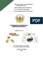 MODULO N° O1 DIDACTICA GESTIÓN EDUCATIVA