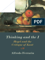 Alfredo Ferrarin - Thinking and the I_ Hegel and the Critique of Kant-Northwestern University Press (2019).pdf