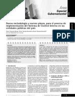 Artículo Técnico sobre Implementación del SCI