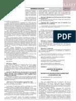 Decreto de Urgencia N° 019-2020