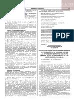 Decreto de Urgencia N° 023-2020