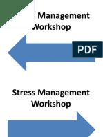 Stree Free Management Worskshop Slides