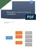 alternativas y formas de hacer la contabilidad
