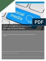 Curso de Experto en Community Manager  Social Media