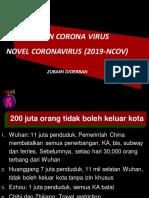 WUHAN CORONA  VIRUS