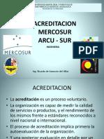 ACREDITACION Criterios ARCU-SUR