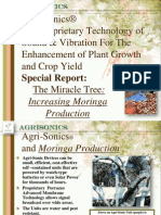 Agrisonics Special Report Increasing Moringa Production