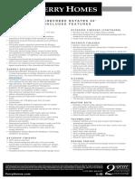 PH - Standard Feature Sheet