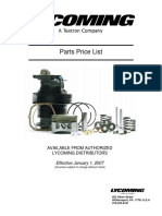 lycoming 2007_service_parts_pricelist