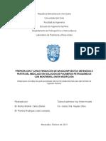 Estabilidad de mezclas PVC/PB