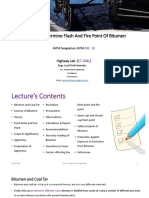 Lecture 8_ To Determine Flash And Fire Point Of Bitumen