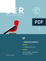 Boletin de colombia Suroccidente III trim_2019