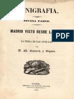1858 ESTROCH lunigrafia 9 madrid desde luna