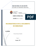 INCONSISTENCIA EN EL DOCUMENTO DE EMBARQUE.docx