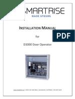 Installing-D3000-Door-Operator
