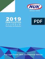 2019 FAN CLUTCH