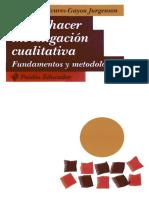 Alvarez Gayou Como Hacer Investigacion Cualitativa Fundamentos y Metodologia PDF