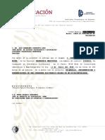 Carta de Terminacion del Residencia de  DANIA GUADALUPE GONZALEZ REYNA