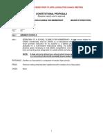 2020 Legislative Council Bylaw Proposals