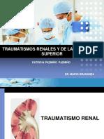 traumatismos renales y de la via urinaria superior