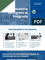 Convocatoria de Ingreso 2020_2 Nacionales