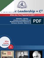 Sebastian Burduja_Authentic  Leadership_ASE_2019