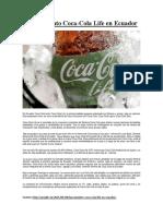 Caso Practico 1 - Coca Cola Life