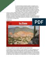 paisajes naturales de argentina