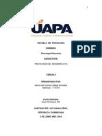 isamar  tema 3-4 psicologia del desarrollo II -