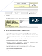 4. Manual de función - Distribuidor