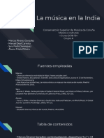 _La música en la India.
