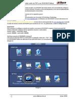 Acceso desde navegador web vía P2P a un DVR/NVR Dahua