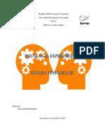 Psicología Experimental- Núcleo Temático I