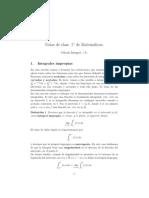 Introducción al cálculo de integrales propias