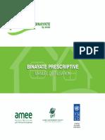 BINAYATE Prescriptive - Manuel d'utilisation