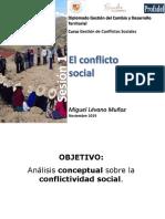1 Categorías y conceptos de los conflictos sociales