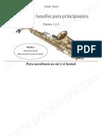 Método de saxofón para principiantes