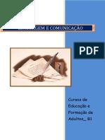 Linguagem e Comunicação B1 EFA Índice
