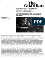 Beethoven's 10th? Now there's a thought … | Music | The Guardian