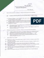 Industrial Management Qpaper Nov-Dec 2010 Nit Raipur Mech 5th Sem