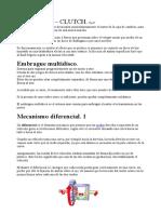 RE205D  EMBRAGUE-Mecanismo Diferencial 1