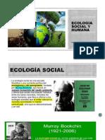 ECOLOGÍA SOCIAL Y HUMANA