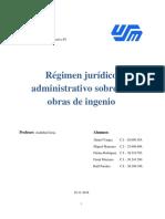 Régimen jurídico administrativo sobre las obras de ingenio (IMPRIMIR)